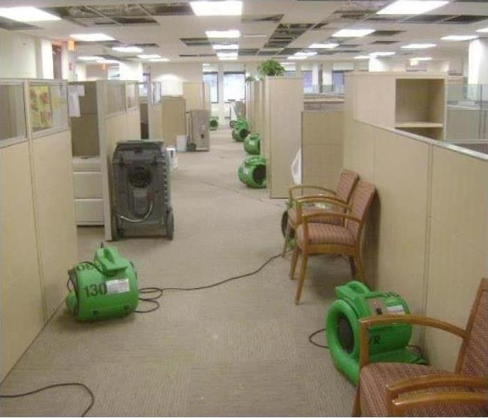 Commercial Water Damage – Durham Offices After