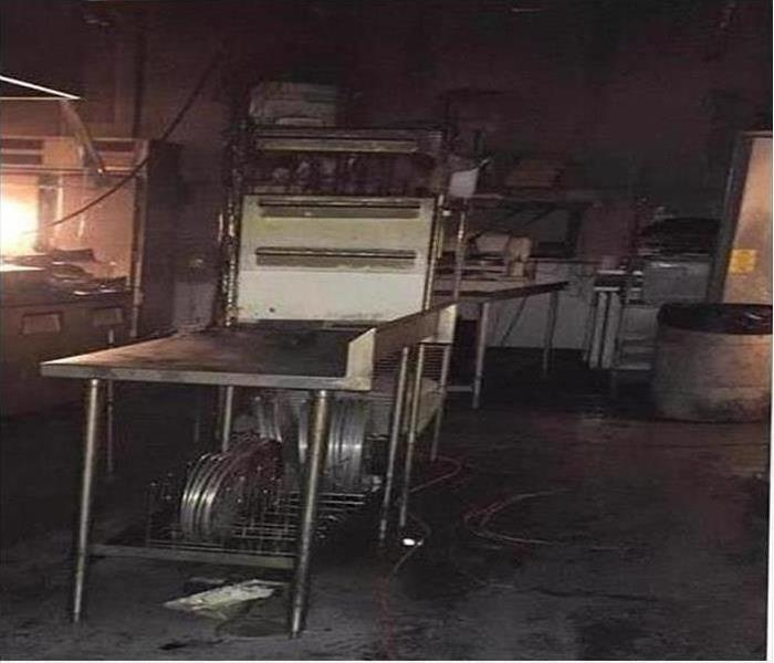 Commercial Fire Damage – Durham Restaurant Before