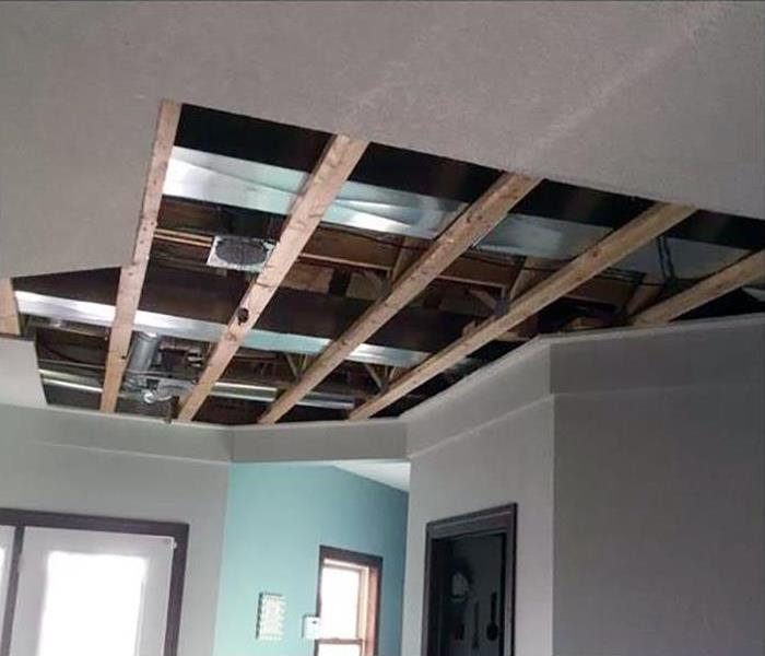 Water Damage In Rougemont Before