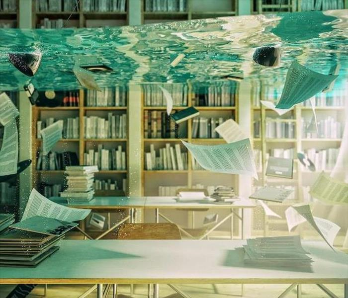Commercial Avoid Delays When Flooding Damages Your Library in Durham