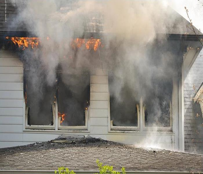 Fire Damage What SERVPRO Can Teach You About Odor Removal After A Fire In Your Durham Home